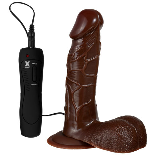 Black Vibrating Dildo 27